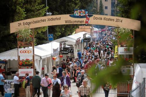 Eidgenössisches Jodlerfest Davos 2014